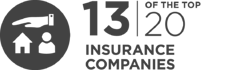 13 of the top 20 Insurance are InfoGuard customers