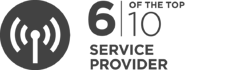 6 of the top 10 Service Providers are InfoGuard customers