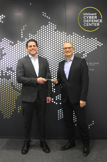 InfoGuard is Pulse Secure EMEA SMB Reseller of the Year 2017