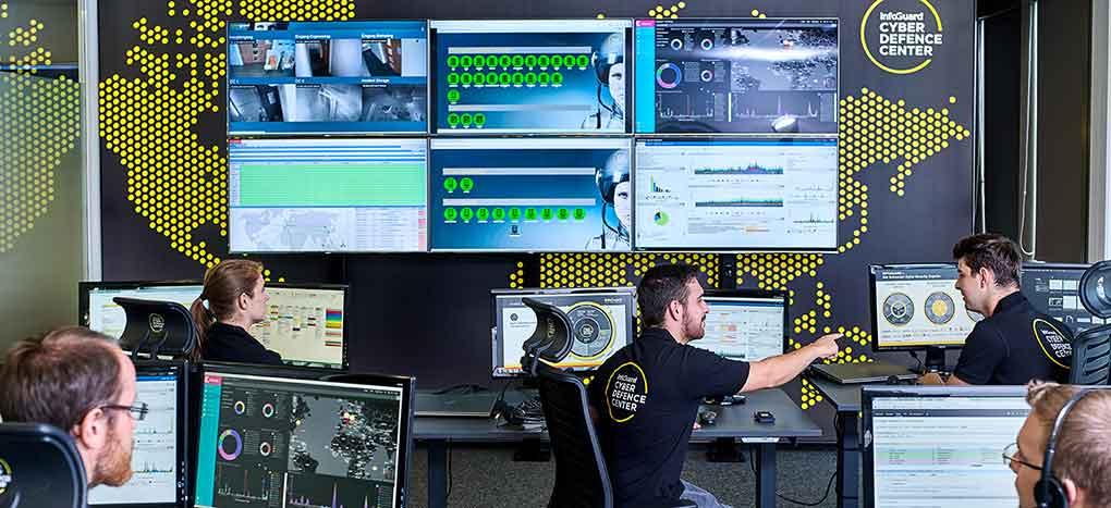 Hinter den Kulissen des InfoGuard Cyber Defence Centers